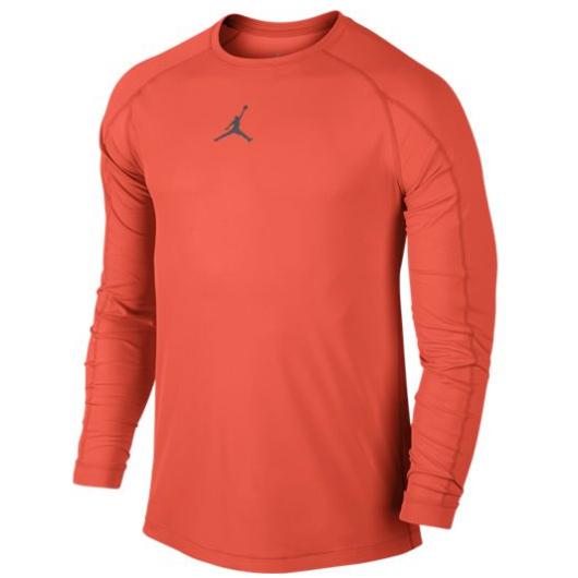 Другие товары JordanЛонгслив Air Jordan 23 Pro Fitted Top<br><br>Цвет: Оранжевый<br>Выберите размер US: L