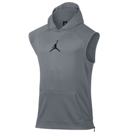 Другие товары JordanБезрукавка с капюшоном Air Jordan 360 Fleece S/L Hoodie<br><br>Цвет: Серый<br>Выберите размер US: L