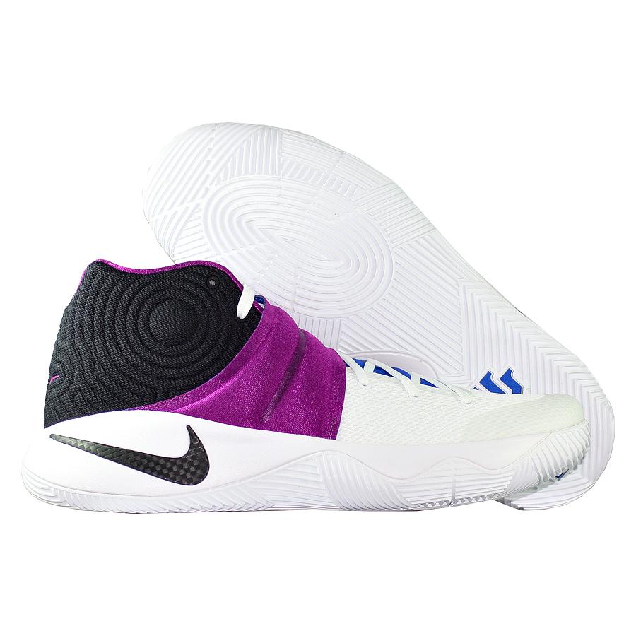 Кроссовки NikeКроссовки баскетбольные Nike Kyrie 2 quot;Kyrachequot;Первые именные кроссовки игрока НБА Кайри Ирвинга! Модель создана для очень быстрых и активных игроков. Она лёгкая, прочтая и удобная, обладает хорошей амортизацией. Подходит для игры на любой позиции.<br><br>Цвет: Белый<br>Выберите размер US: 14