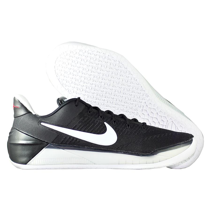 Кроссовки NikeКроссовки баскетбольные Nike Kobe A.D. quot;Black Whitequot;Баскетбольные кроссовки звезды НБА - Коби Брайанта, юбилейная десятая модель! Корпус выполнен из лёгких синтетических материалов, для амортизации использован баллон Zoom. Низкий профиль обеспечивает свободу игроку. Хороший выбор для занятий баскетболом!<br><br>Цвет: Чёрный<br>Выберите размер US: 8|9|10,5|11|11,5|12|13