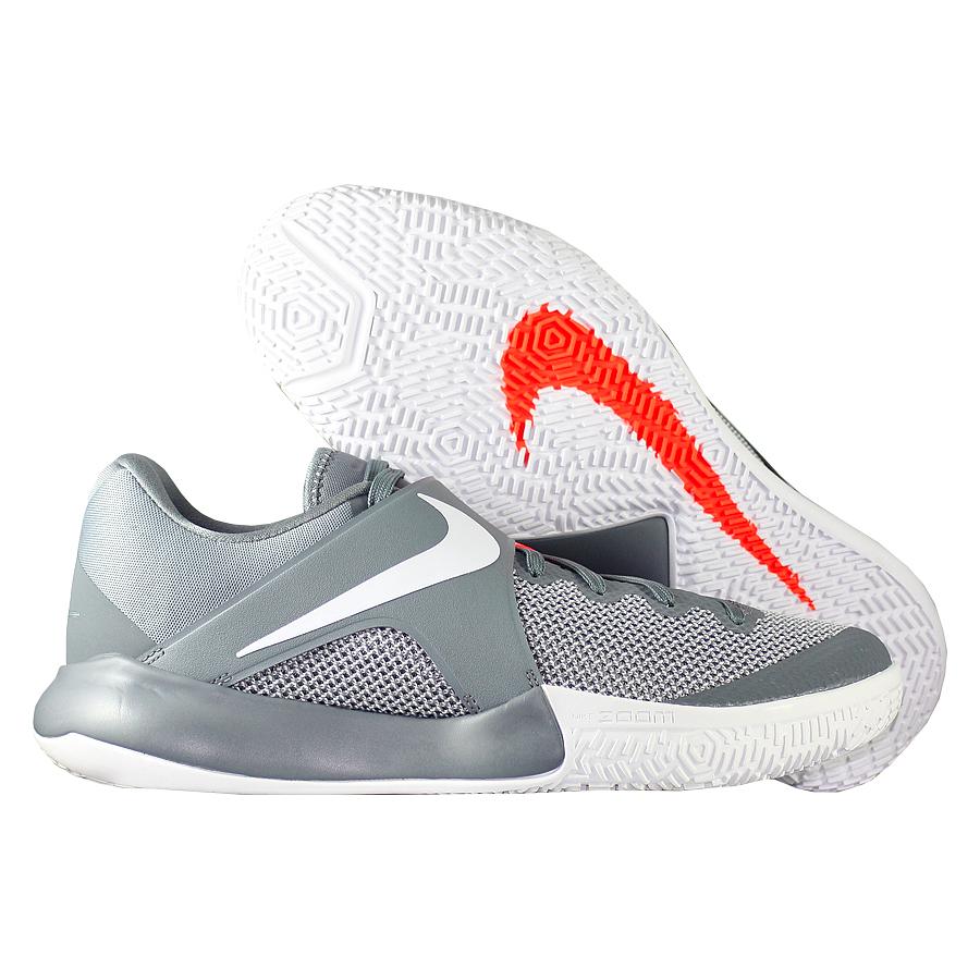Кроссовки NikeКроссовки баскетбольные Nike Zoom Live 2017 quot;Cool Greyquot;Командные кроссовки Коби Брайанта - KB Mentality - отличное сочетание цены и качества! Низкий профиль обеспечиват свободу движения своему обладателю. Подошва немаркая, обладает хорошим сцеплением. Отличный выбор для всех игроков!<br><br>Цвет: Серый<br>Выберите размер US: 8|9|9,5|10,5|11|11,5|12|12,5|13
