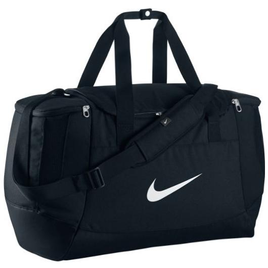 Другие товары NikeСумка спортивная Nike Club Team M Duff<br><br>Цвет: Чёрный<br>Выберите размер US: 1SIZE