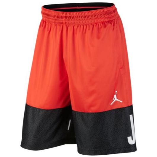 Другие товары JordanШорты Air Jordan Classic Blockout Basketball<br><br>Цвет: Оранжевый<br>Выберите размер US: XL