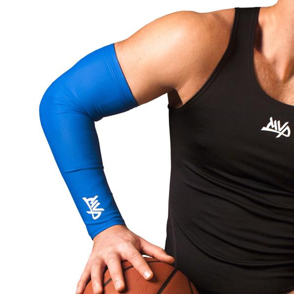 Другие товары MVPРукав компрессионный MVP Arm Sleeve<br><br>Цвет: Синий<br>Выберите размер US: M