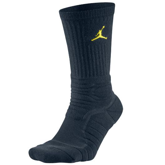 Другие товары JordanНоски Air Jordan Ultimate Flight Crew SockНоски Jordan Brand<br><br>Цвет: Синий<br>Выберите размер US: L