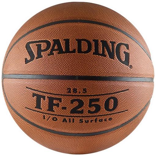 Другие товары SpaldingБаскетбольный мяч Spalding TF-250 All Surface размер 5<br><br>Цвет: Коричневый<br>Выберите размер US: 5