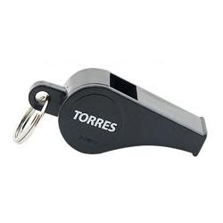 Другие товары TorresСвисток пластиковый с шариком Torres<br><br>Цвет: Чёрный<br>Выберите размер US: 1SIZE