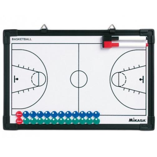 Другие товары MikasaТактическая доска для баскетбола MikasaДоска тренерская тактическая. Используйте эту двухстороннюю магнитную я доску, чтобы построить свою команду и отслеживать статистику. Изготовлена из прочного листового металла и ПВХ. Размер доски 21,6 см х 33 см.<br><br>Цвет: Белый<br>Выберите размер US: 1SIZE