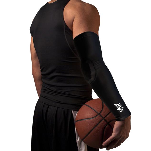 Другие товары MVPРукав компрессионный с защитой MVP Protective Arm Sleeve<br><br>Цвет: Чёрный<br>Выберите размер US: XL