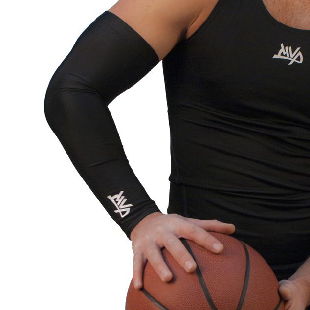 Другие товары MVPРукав компрессионный MVP Arm Sleeve<br><br>Цвет: Чёрный<br>Выберите размер US: S|XL|L