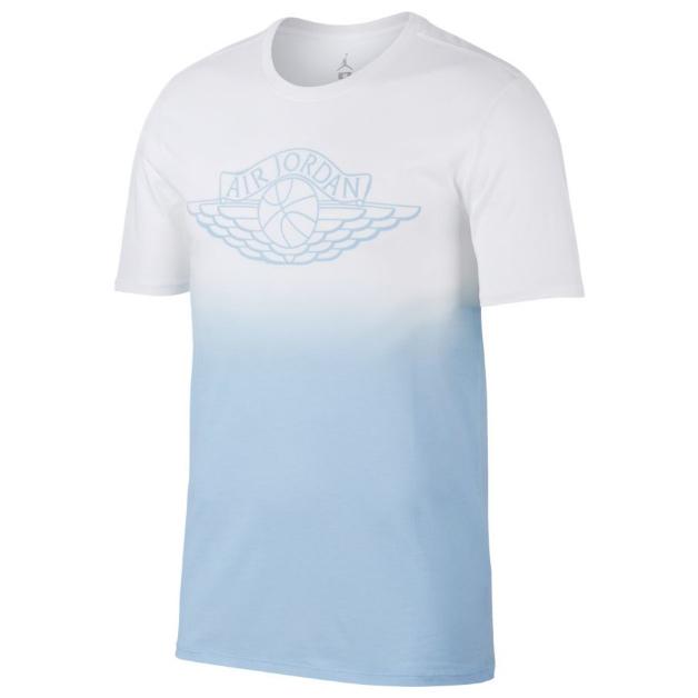 Другие товары JordanФутболка Air Jordan Fadeaway Faded T-ShirtФутболка Jordan Brand. Материал 100% хлопок<br><br>Цвет: Голубой<br>Выберите размер US: M|XL|2XL