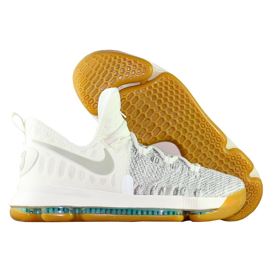 Кроссовки NikeКроссовки детские баскетбольные Nike Zoom KD 9 GS quot;Pale Greyquot;<br><br>Цвет: Серый<br>Выберите размер US: 3,5|4|4,5|5|5,5|6|6,5|7