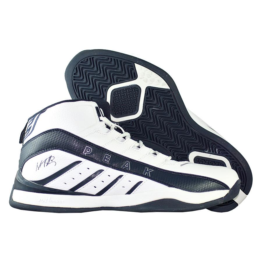 Кроссовки PEAKКроссовки баскетбольные PEAK Dominator Mid<br><br>Цвет: Белый<br>Выберите размер US: 9,5|10|14