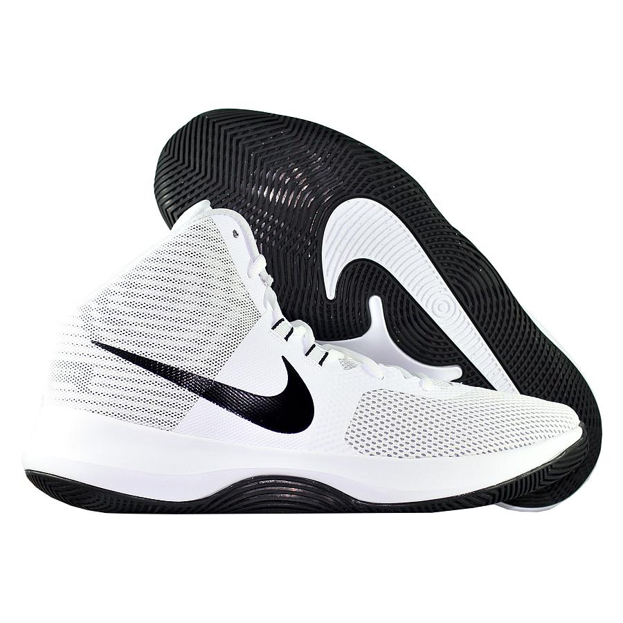 Кроссовки NikeКроссовки баскетбольные Nike Air Precision<br><br>Цвет: Белый<br>Выберите размер US: 11|12|9|10,5