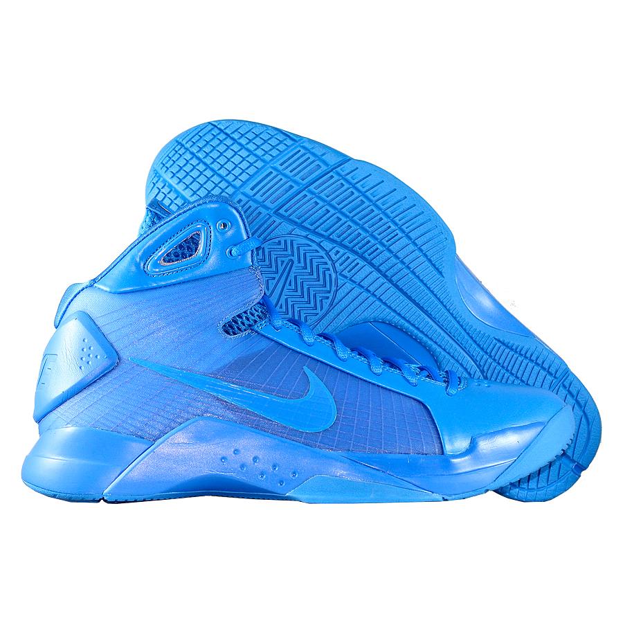 Кроссовки NikeКроссовки баскетбольные Nike Hyperdunk apos;08 quot;Triple Bluequot;<br><br>Цвет: Синий<br>Выберите размер US: 9|9,5|10|11|12|12,5|13|15|16