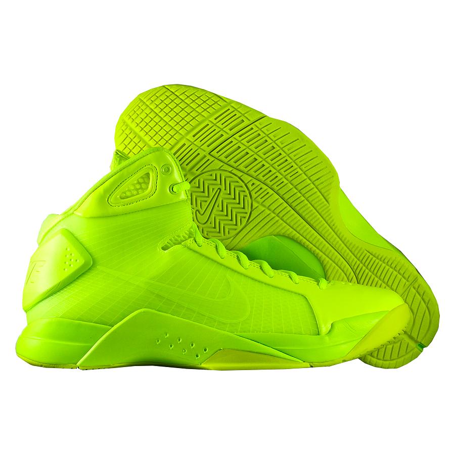 Кроссовки NikeКроссовки баскетбольные Nike Hyperdunk apos;08  quot;Triple Voltquot;<br><br>Цвет: Зелёный<br>Выберите размер US: 8,5|9|9,5|10|10,5|11|12|13