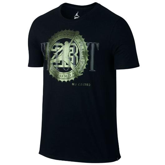 Другие товары JordanФутболка Air Jordan Pure Money Bank Note T-ShirtФутболка Jordan Brand. Материал 100% хлопок<br><br>Цвет: Чёрный<br>Выберите размер US: M|L|XL