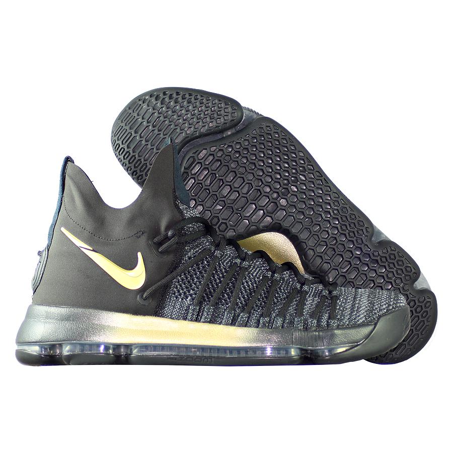 Кроссовки NikeКроссовки баскетбольные Nike Zoom KD 9 Elite quot;Flip The Switchquot;Мужские баскетбольные кроссовки Nike Zoom KD 9 с инновационной системой амортизации обеспечивают непревзойденную упругость и контроль, необходимые для универсальной игры.<br><br>Цвет: Чёрный<br>Выберите размер US: 9|10,5