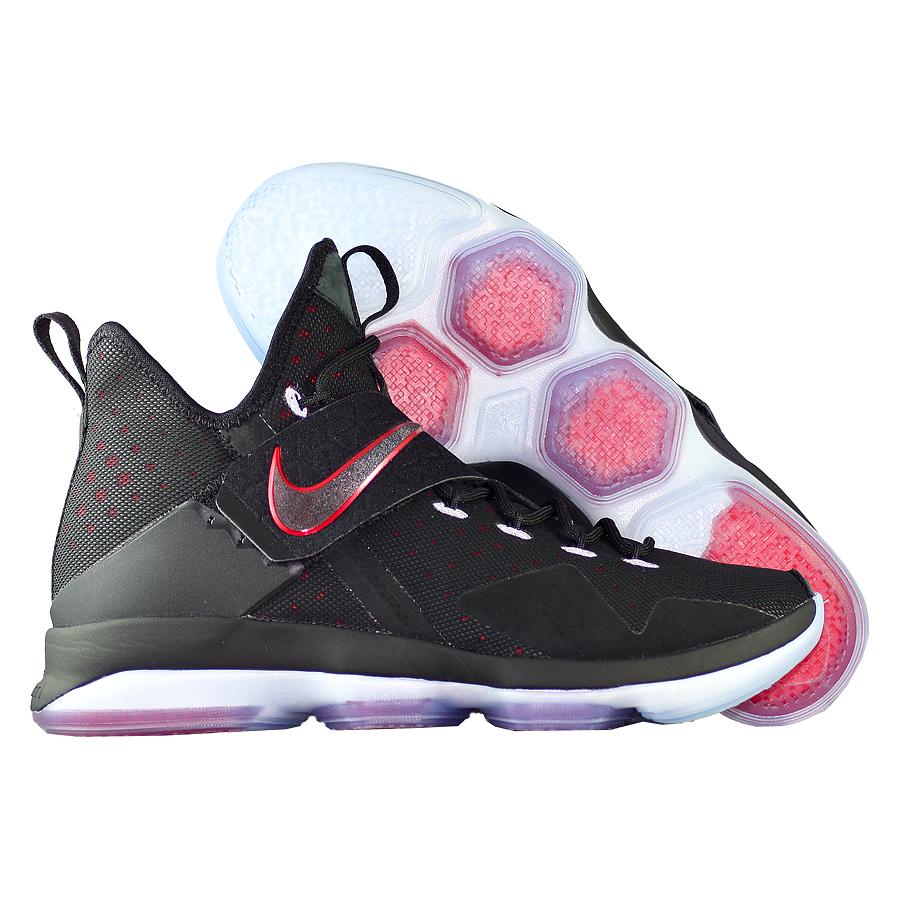 Кроссовки NikeКроссовки баскетбольные Nike LeBron 14 (XIV) quot;Bredquot;<br><br>Цвет: Чёрный<br>Выберите размер US: 9,5|11,5