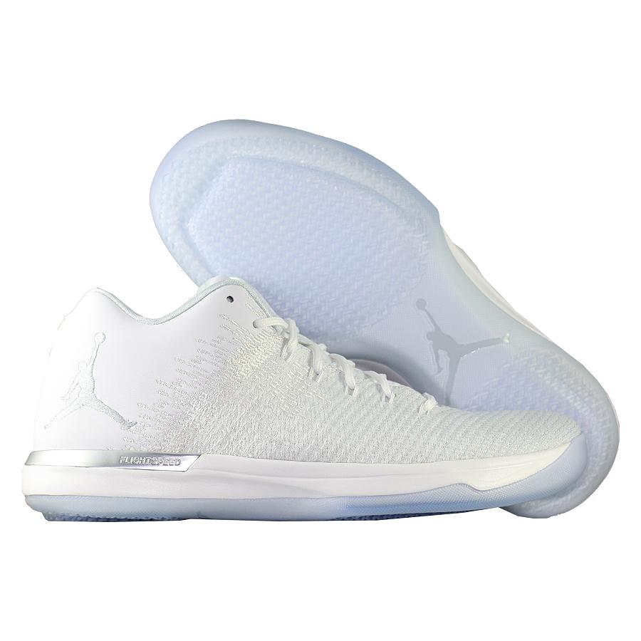 Кроссовки JordanКроссовки баскетбольные Air Jordan 31 (XXX1) Low quot;Pure Platinumquot;<br><br>Цвет: Белый<br>Выберите размер US: 9|10|11|12|13