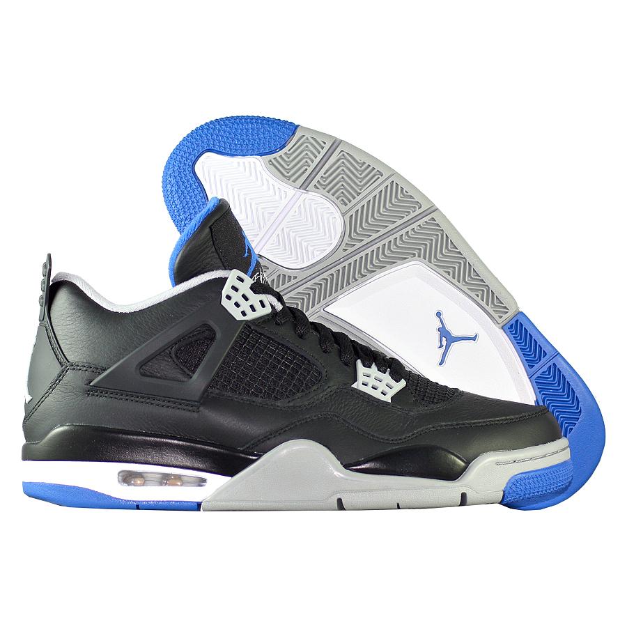 """Кроссовки баскетбольные Air Jordan 4 (IV) Retro """"Motorsports"""""""