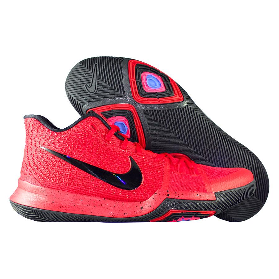 Кроссовки NikeКроссовки баскетбольные Nike Kyrie 3 quot;University Redquot;Первые именные кроссовки игрока НБА Кайри Ирвинга! Модель создана для очень быстрых и активных игроков. Она лёгкая, прочтая и удобная, обладает хорошей амортизацией. Подходит для игры на любой позиции.<br><br>Цвет: Красный<br>Выберите размер US: 9|10,5|12|13