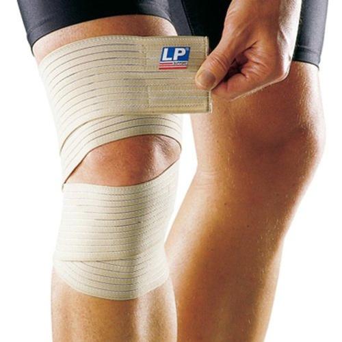 Другие товары LP SupportБинт эластичный для колена LP Knee Wrap<br><br>Цвет: Коричневый<br>Выберите размер US: 1SIZE