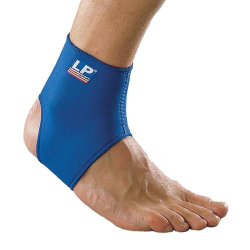Другие товары LP SupportСуппорт голеностопа неопреновый LP Ankle Support<br><br>Цвет: Синий<br>Выберите размер US: S|L|XL