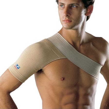 Другие товары LP SupportСуппорт плеча LP Shoulder Support Cotton Inside 4 Ways<br><br>Цвет: Коричневый<br>Выберите размер US: L|XL