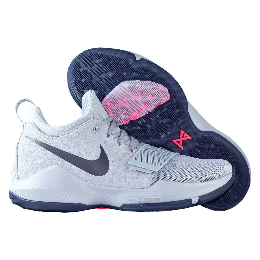 Кроссовки NikeКроссовки баскетбольные Nike PG 1 quot;Glacier Greyquot;Первые именные кроссовки игрока НБА Кайри Ирвинга! Модель создана для очень быстрых и активных игроков. Она лёгкая, прочтая и удобная, обладает хорошей амортизацией. Подходит для игры на любой позиции.<br><br>Цвет: Серый<br>Выберите размер US: 8|8,5|9|10|11