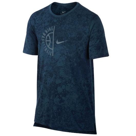 Другие товары NikeФутболка Nike Dry Tee Swoosh ArchФутболка Nike из коллекции Kobe Bryant. Состав - 58% хлопок, 42% полиэстер.<br><br>Цвет: Синий<br>Выберите размер US: M|L|XL