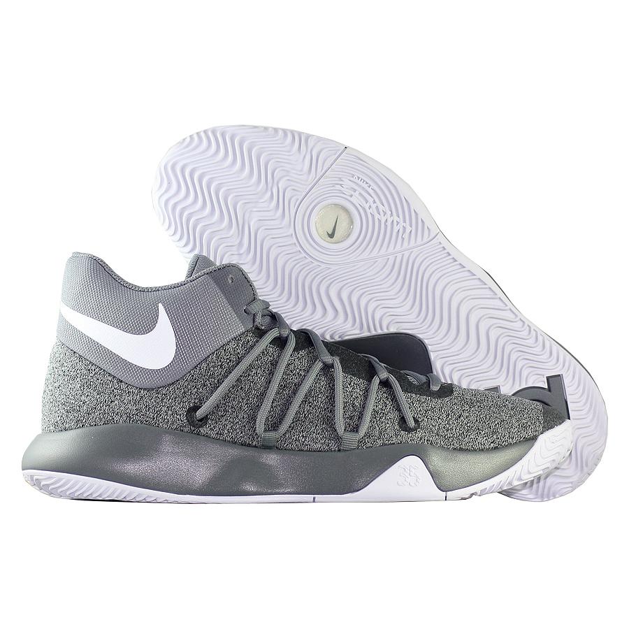 Кроссовки NikeКроссовки баскетбольные Nike KD Trey 5 V quot;Cool Greyquot;<br><br>Цвет: Серый<br>Выберите размер US: 9,5|10|10,5|11|12,5|13