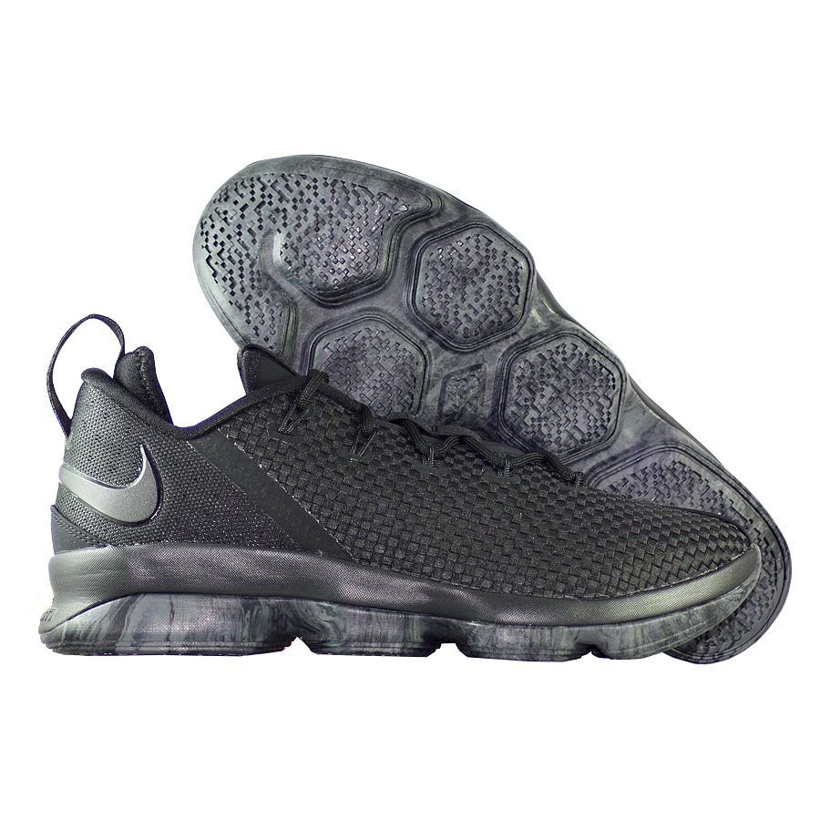 Купить Кроссовки Nike, Кроссовки баскетбольные Nike LeBron 14 (XIV) Low Blackout , Чёрный