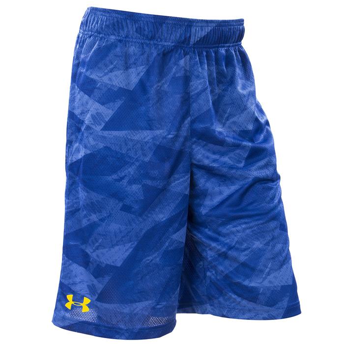 Другие товары Under ArmourШорты баскетбольные Under Armour SC30 Aero Wave Printed Short<br><br>Цвет: Синий<br>Выберите размер US: S|M|L