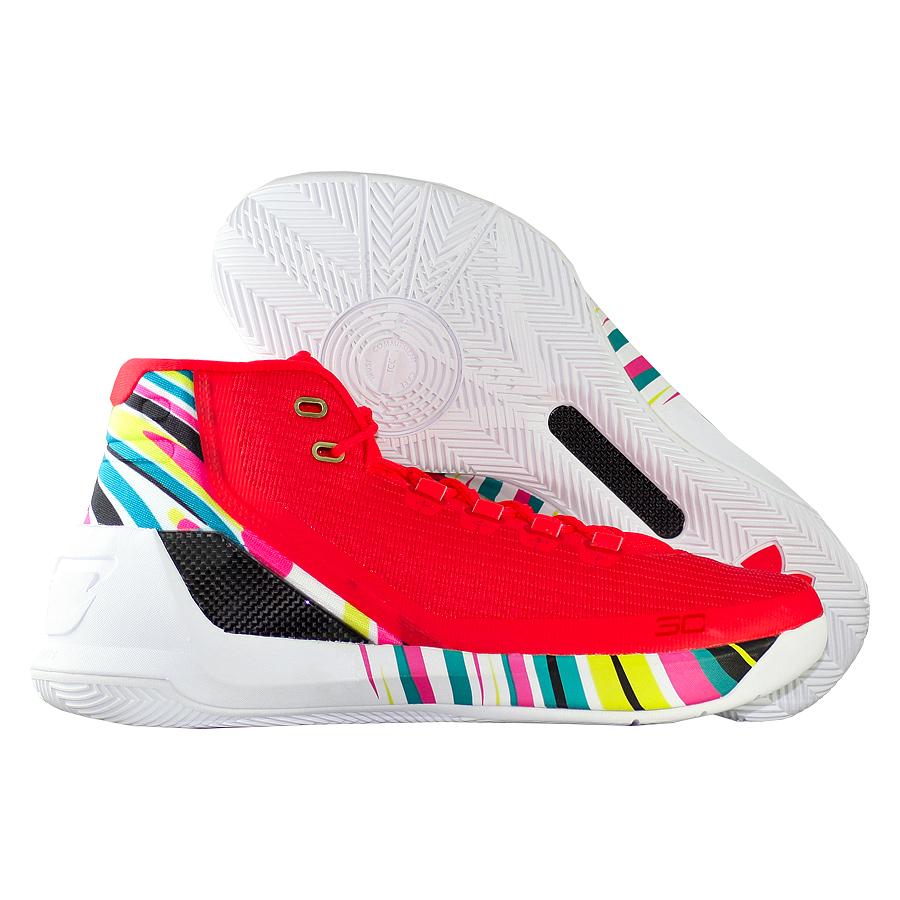 Кроссовки Under ArmourКроссовки баскетбольные Under Armour Curry 3 quot;Chinese New Yearquot;<br><br>Цвет: Красный<br>Выберите размер US: 9|10|10,5|11