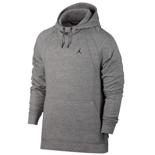 Другие товары JordanТолстовка Air Jordan Sportswear Wings Fleece Pullover HoodieСпортивная толстовка Jordan Brand, 78% хлопок, 22% полиэстер<br><br>Цвет: Серый<br>Выберите размер US: S|M|L|XL|2XL
