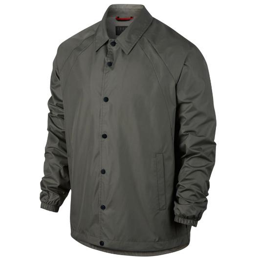Другие товары JordanКуртка Air Jordan Sportswear Wings Coaches JacketСпортивная толстовка Jordan Brand, 78% хлопок, 22% полиэстер<br><br>Цвет: Серый<br>Выберите размер US: M|L|XL|2XL