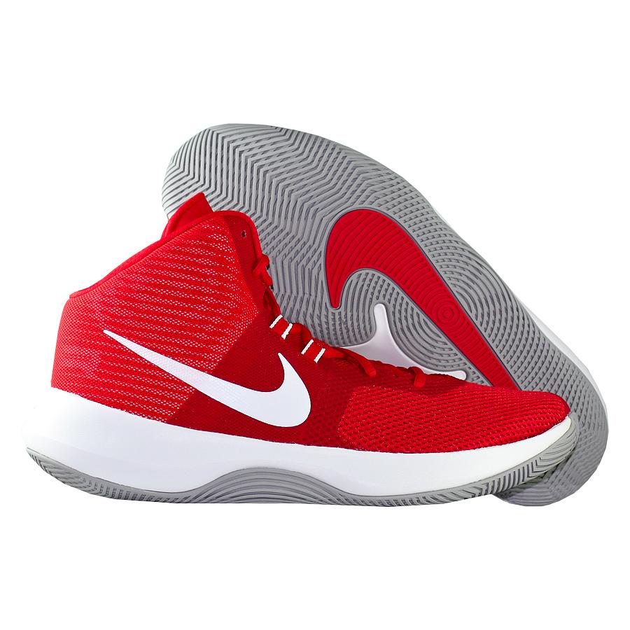 Кроссовки NikeКроссовки баскетбольные Nike Air Precision<br><br>Цвет: Красный<br>Выберите размер US: 12