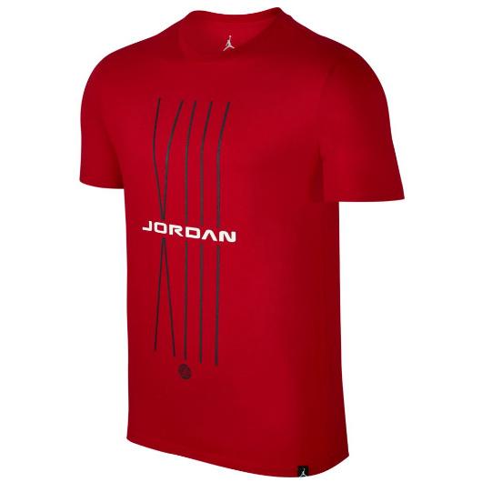 Другие товары JordanФутболка Air Jordan Sportswear AJ 13 CNXN 1 T-ShirtФутболка Jordan Brand. Материал 100% хлопок<br><br>Цвет: Красный<br>Выберите размер US: M|L|XL