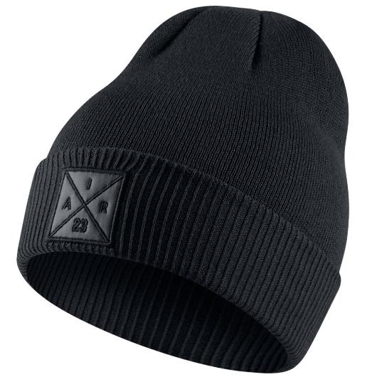 Другие товары JordanШапка Air Jordan P51 Knit Hat<br><br>Цвет: Чёрный<br>Выберите размер US: 1SIZE