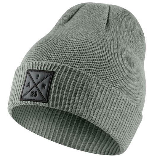 Другие товары JordanШапка Air Jordan P51 Knit Hat<br><br>Цвет: Серый<br>Выберите размер US: 1SIZE