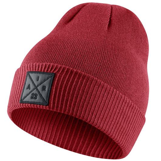 Другие товары JordanШапка Air Jordan P51 Knit Hat<br><br>Цвет: Красный<br>Выберите размер US: 1SIZE