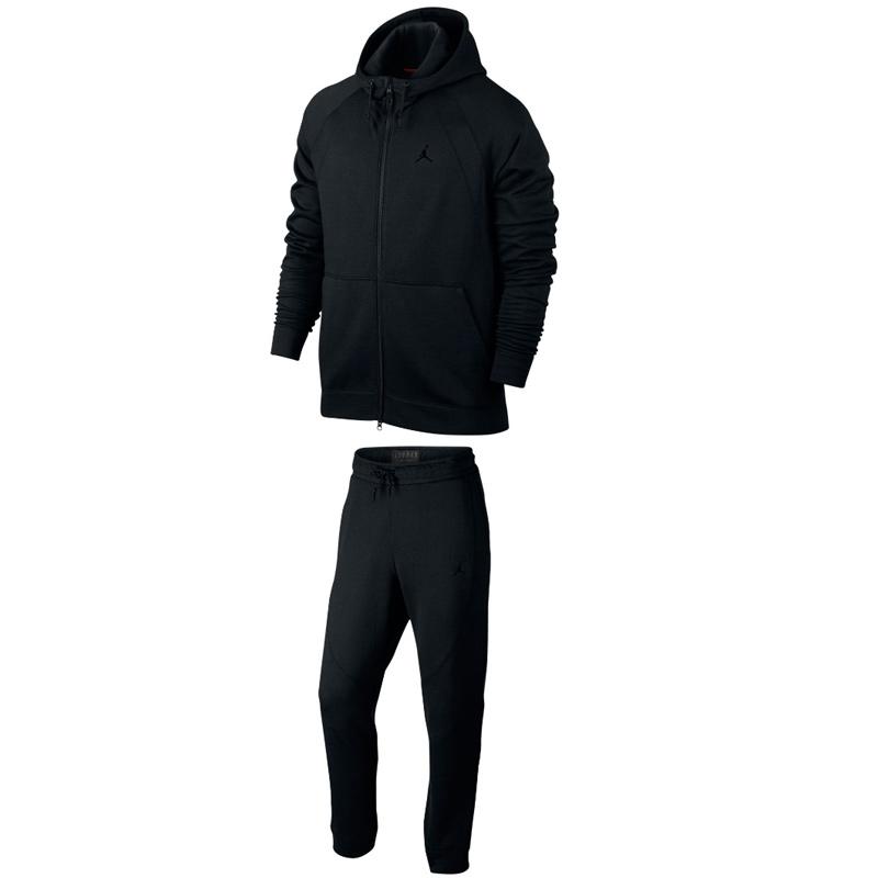 Другие товары JordanКостюм Air Jordan Sportswear Wings FleeceСпортивная толстовка Jordan Brand, 78% хлопок, 22% полиэстер<br><br>Цвет: Чёрный<br>Выберите размер US: 1SIZE