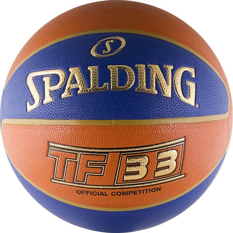 Другие товары SpaldingБаскетбольный мяч Spalding TF-33 размер 6<br><br>Цвет: Мульти<br>Выберите размер US: 6