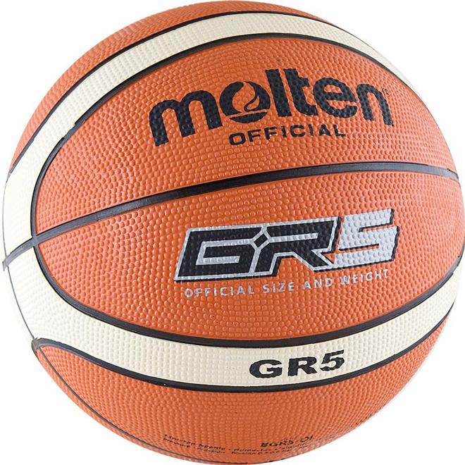Другие товары MoltenБаскетбольный мяч Molten BGR5-OI размер 5<br><br>Цвет: Оранжевый<br>Выберите размер US: 5