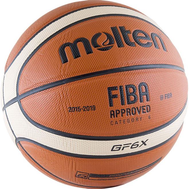 Другие товары MoltenБаскетбольный мяч Molten BGF6X-RFB размер 6<br><br>Цвет: Оранжевый<br>Выберите размер US: 6