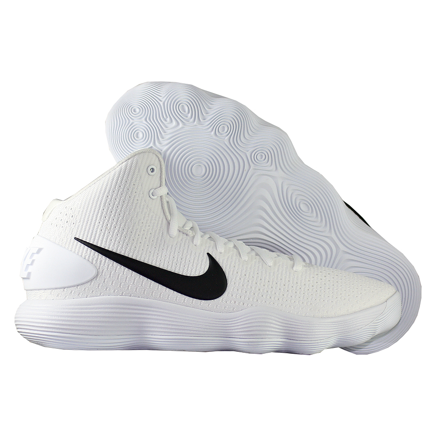 Кроссовки NikeКроссовки баскетбольные Nike Hyperdunk 2017 TB<br><br>Цвет: Белый<br>Выберите размер US: 9,5|11