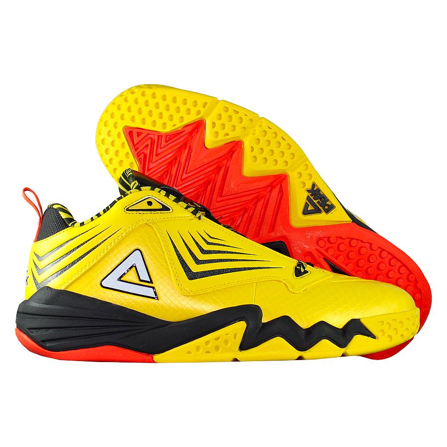 Кроссовки PEAKКроссовки баскетбольные PEAK Monster Marks<br><br>Цвет: Жёлтый<br>Выберите размер US: 9|9,5|10|11