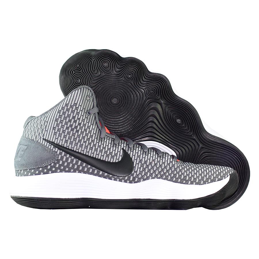 Кроссовки NikeКроссовки баскетбольные Nike Hyperdunk 2017 TB quot;Dark Greyquot;<br><br>Цвет: Серый<br>Выберите размер US: 7|8|9.5|10|11|13|14