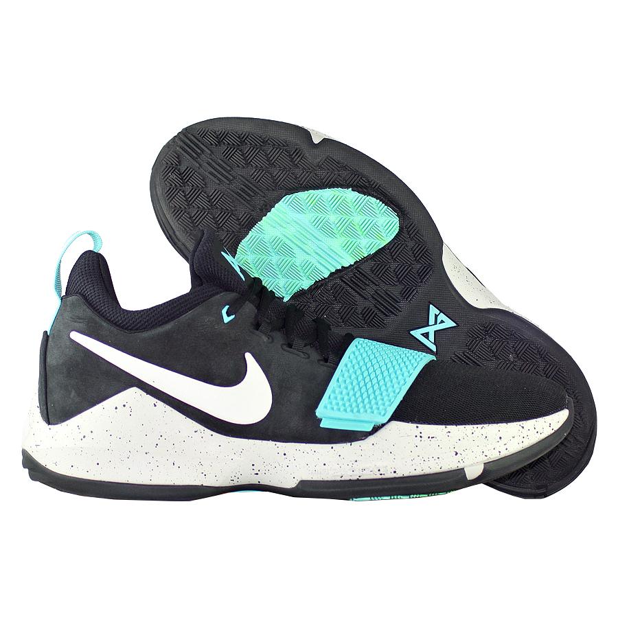 Кроссовки NikeКроссовки баскетбольные Nike PG 1 quot;Blockbusterquot;<br><br>Цвет: Чёрный<br>Выберите размер US: 8|14